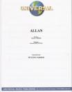 Mylène Farmer Allan Live Partition Editions Universal
