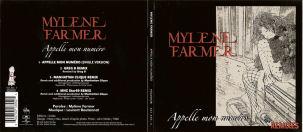 Mylène Farmer Appelle mn numéro CD Maxi France