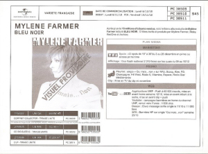 Bleu Noir - Bon de précommande (Coffret / CD Digisleeve / Vinyle)