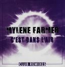 Mylène Farmer - C'est dans l'air - CD Promo Club Remixes 2