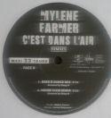 Mylène Farmer C'est dans l'air Maxi 33 Tours France