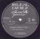 Mylène Farmer C'est une belle journée Maxi 45 Tours Promo France