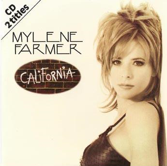 California - CD Single Europe (Allemagne)