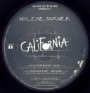 Mylène Farmer california Double maxi 33 Tours France
