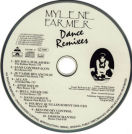 Mylène Farmer Dance Remixes CD Taiwan