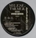 Mylène Farmer Dégénération Maxi 33 Tours France