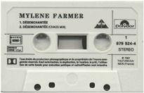 Mylène Farmer Désenchantée Cassette Single France