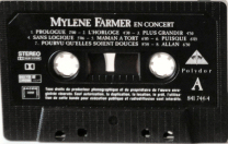 Mylène Farmer Cassette France