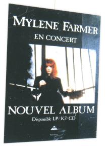 Mylène Farmer En Concert PLV