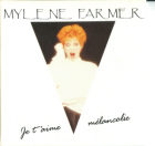 Mylène Farmer Je t'aime mélancolie  CD Promo France