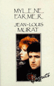 Mylène Farmer et Jena-Louis Murat Regrets Cassette Single France