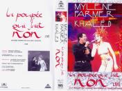 Mylène Farmer et Khaled la poupée qui fait non Live VHS Promo France