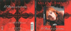 Mylène Farmer L'Amour n'est rien... CD Single France