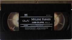 Mylène Farmer & mylene-farmer_les-clips-vol-II_vhs-france