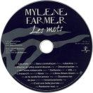 Mylène Farmer Les mots CD Ukraine 3è pressage