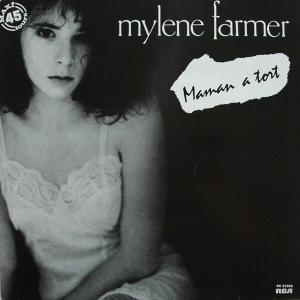 Mylène Farmer Maman a tort Maxi 45 Tours