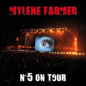 Mylène Farmer N°5 on Tour Triple 33 Tours