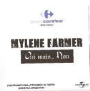 Mylène Farmer Oui mais... Non DVD Promo Magasisns Carrefour Argentine