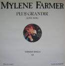 Single Plus Grandir Live (1990) - Maxi 45 Tours Promo