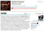 Mylène Farmer Point de Suture Critique voir.ca 11 septembre 2008
