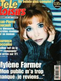 Mylène Farmer Presse Télé Loisirs Programmes du 05 au 11 février 2005