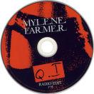 Mylène Farmer Q.I CD Promo France