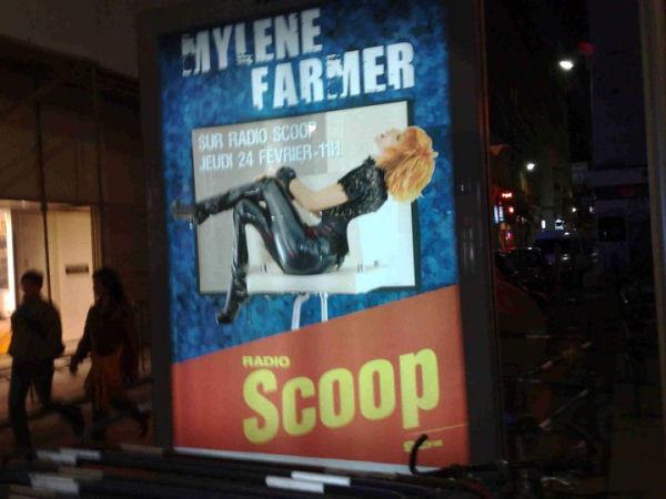 Mylène Farmer Radio Scoop