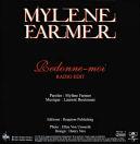 Mylène Farmer Redonne-moi CD Promo France