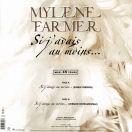 Mylène Farmer Si j'avais au moins... Maxi 45 Tours France
