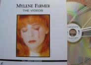Mylène Farmer & mylene-farmer_the-videos_laser-disc-japon