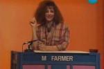 Mylène Farmer - L'académie des neuf - Antenne 2 - 15 mars 1985