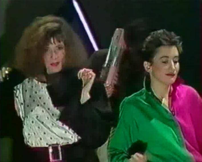 Mylène Farmer L'année du zèbre TF1 13 février 1985