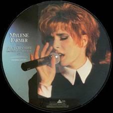 Mylène Farmer Plus grandir Live Maxi 45T Picture Disc