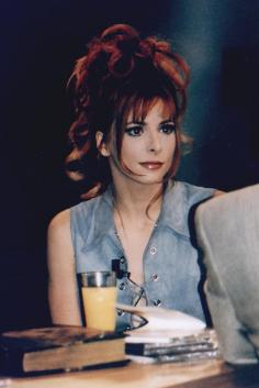 """Mylène Farmer 1996 Tournage de """"20 heures Paris Première"""""""