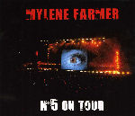 Mylène Farmer N°5 on Tour Double CD Livre Disque France