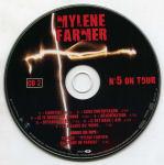 Mylène Farmer Libertine N°5 on Tour Double CD Livre Disque France