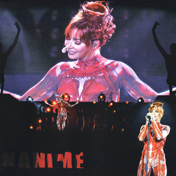 Mylène Farmer N°5 on Tour Triple Vinyl