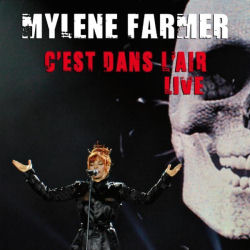 Mylène Farmer C'est dans l'air Live CD Promo