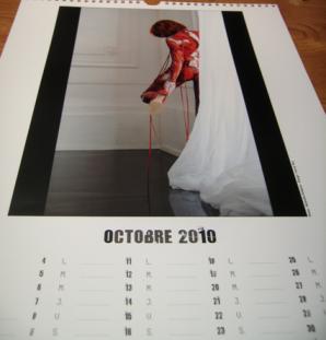 Mylène Farmer - Calendrier 2010