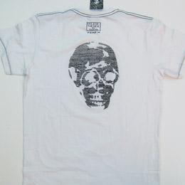 Mylène Farmer Merchandising Tour 2009 Skinny Skull Blanc Homme