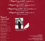 Mylène Farmer Beyond my control CD Maxi Allemagne