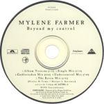 Mylène Farmer Beyond my control CD Maxi Promo Canada