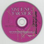 Mylène Farmer Dégénération CD Promo