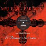 Mylène Farmer L'Amour n'est rien... Maxi 45 Tours Promo France