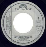 Mylène Farmer Pourvu qu'elles soient douces 45 Tours France
