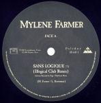 Mylène Farmer Sans Logique Maxi 45 Tours France