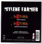 Mylène Farmer Sextonik CD Single