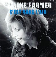 Mylène Farmer C'est dans l'air CD 2 titres