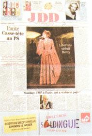 Le Journal du dimanche 15 janvier 2006