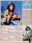 Mylène Farmer Charlie Magazine Juin 1984